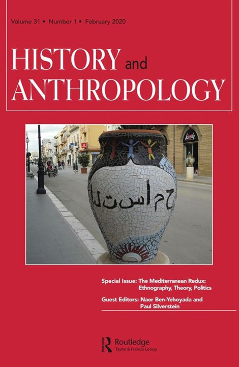 Journal Cover: History and Anthropology