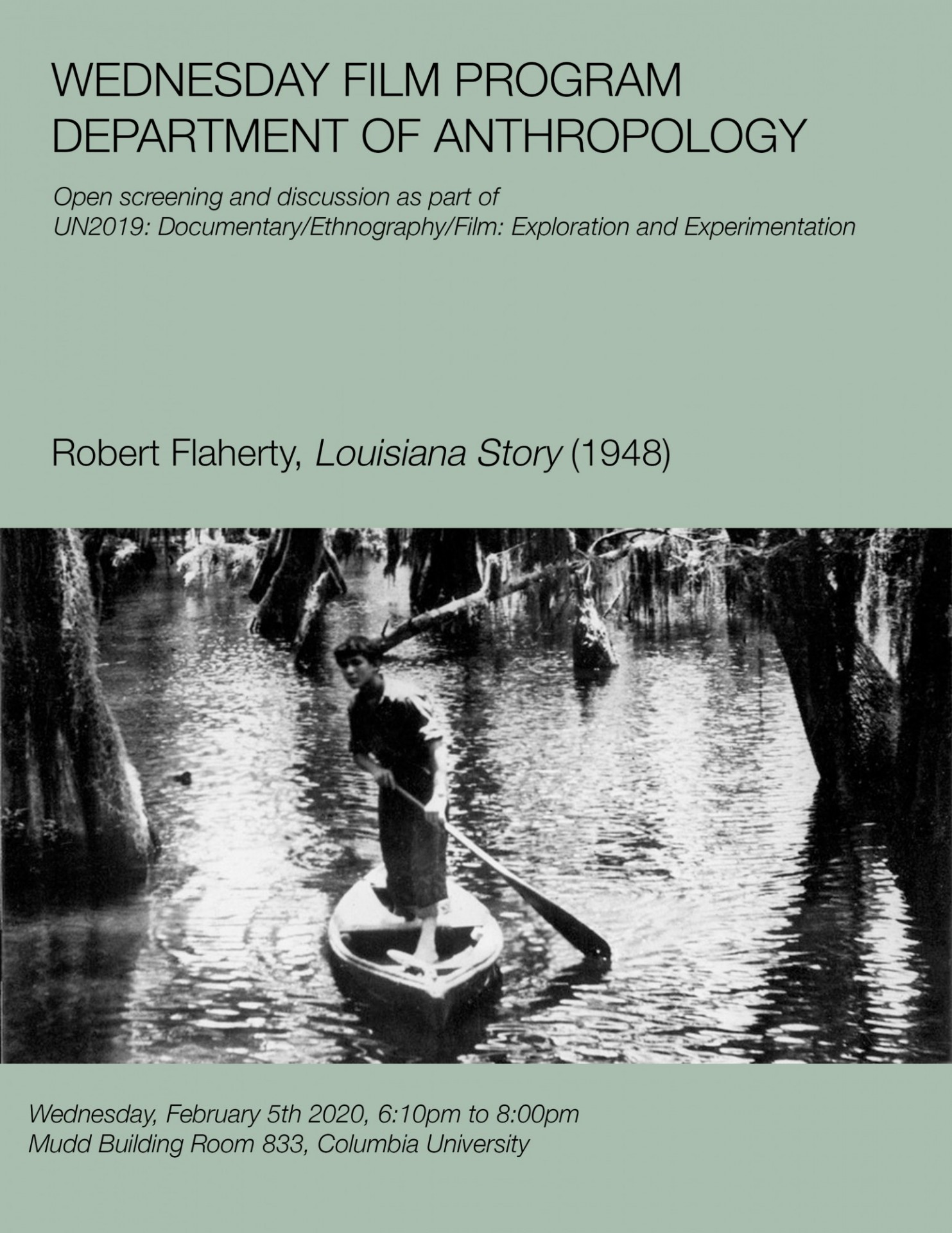 Robert Flaherty, Louisiana Story (1948)