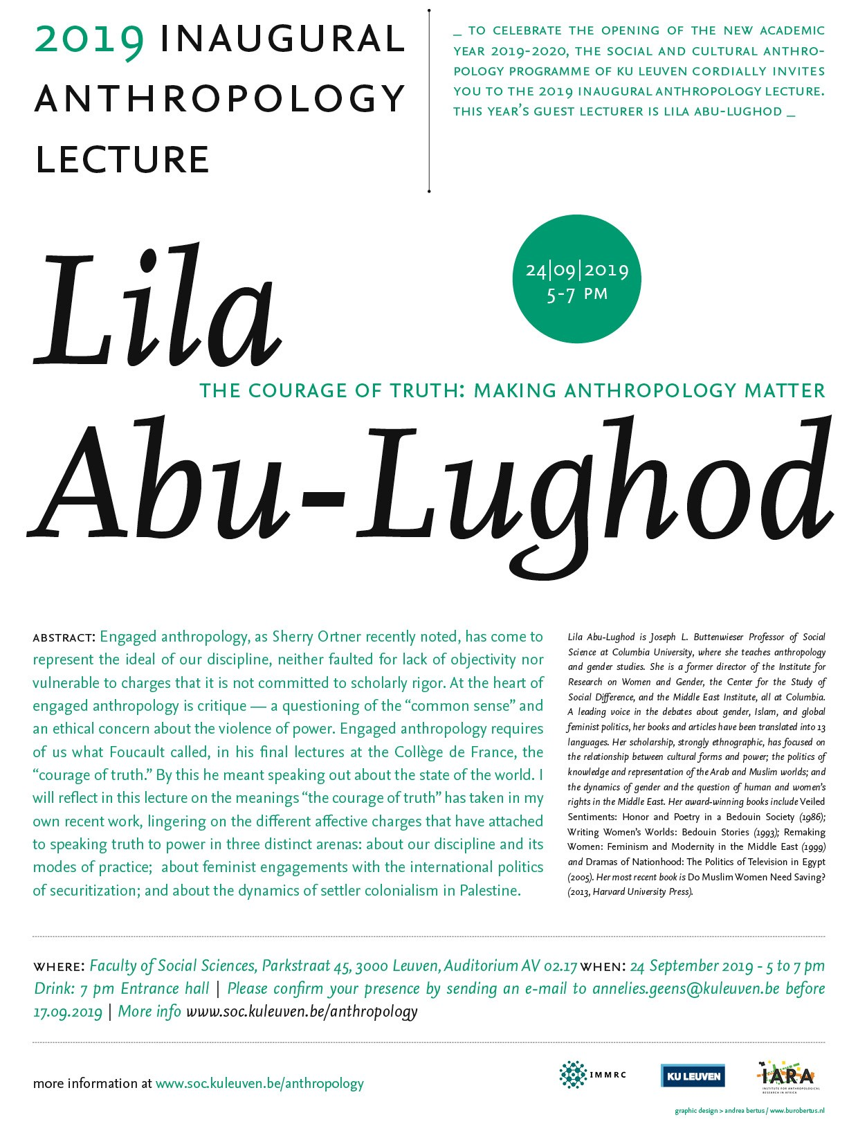 Event Poster for lecture