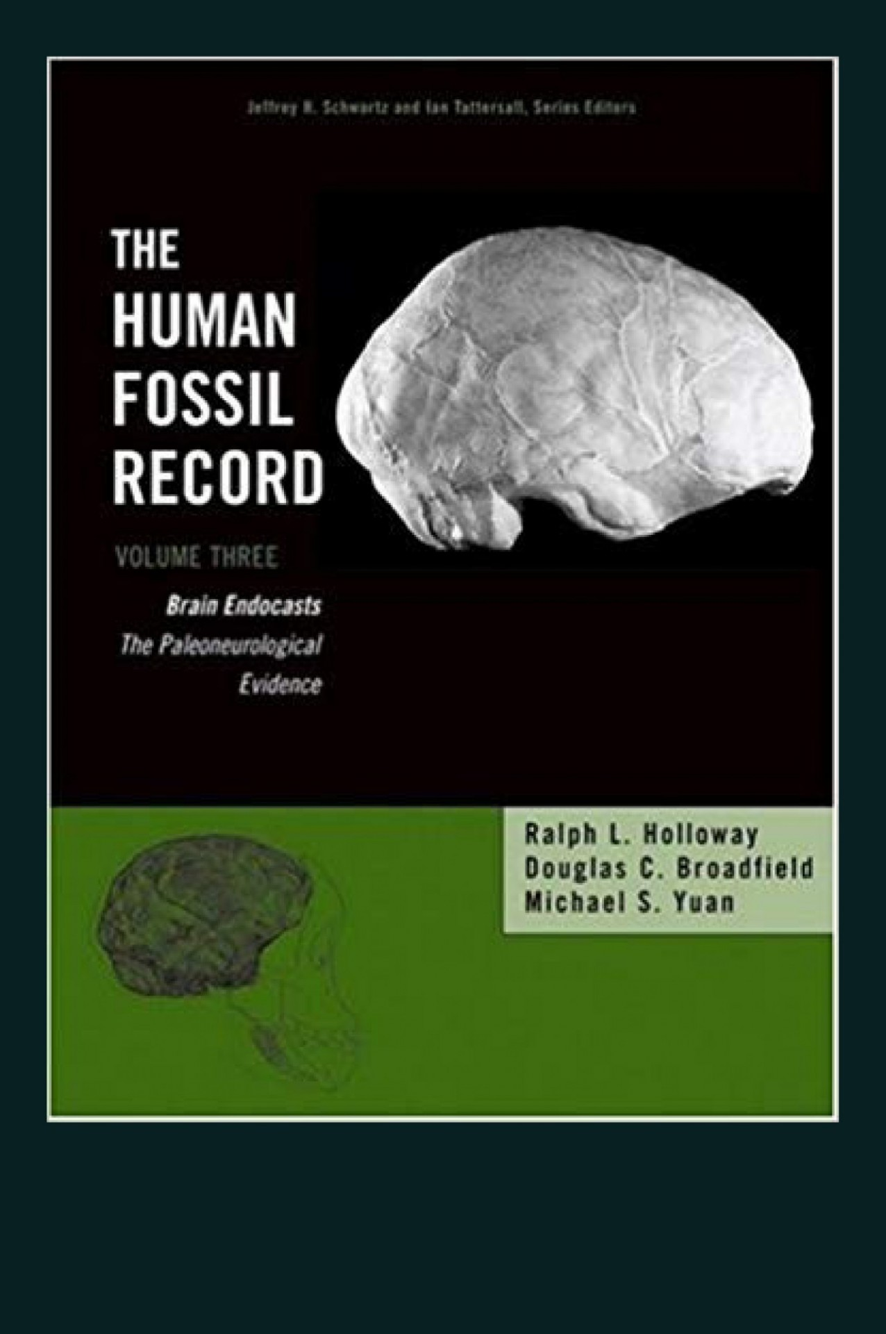 Book Cover: Ralph Holloway, The Human Fossil Record