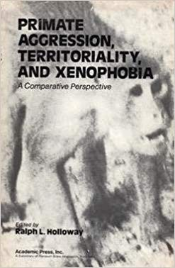 Book cover featuring a black and white rendition of a primate.