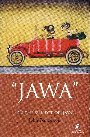 Book cover showing a colored drawing of two figures in a car.