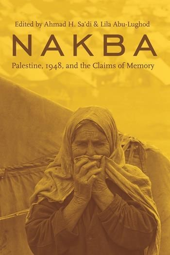Book cover featuring a photograph of a figure holding cloth over their mouth, overlaid with a yellow filter.