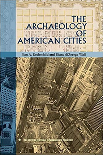 Book cover depicting a birds-eye view of a city intersection.