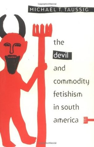 Book cover depicting a cartoon devil with a pitchfork.